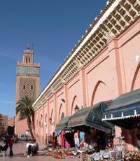 un marché en Algérie