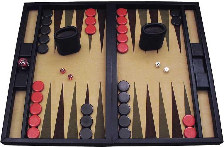 Jeu de backgammon