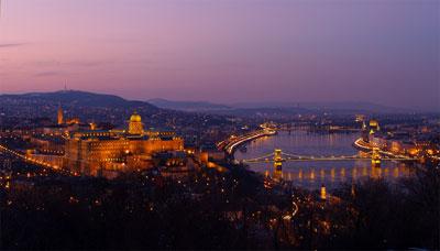Hongrie : Budapest, la nuit