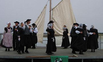 Bretagne : une danse bretonne