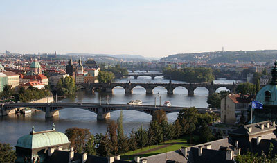 R�publique Tch�que : les ponts de Prague