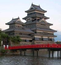 Un bâtiment japonais traditionnel