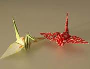 Des oiseaux en origami